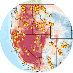 Climate Data Mining Icon and Link to Site